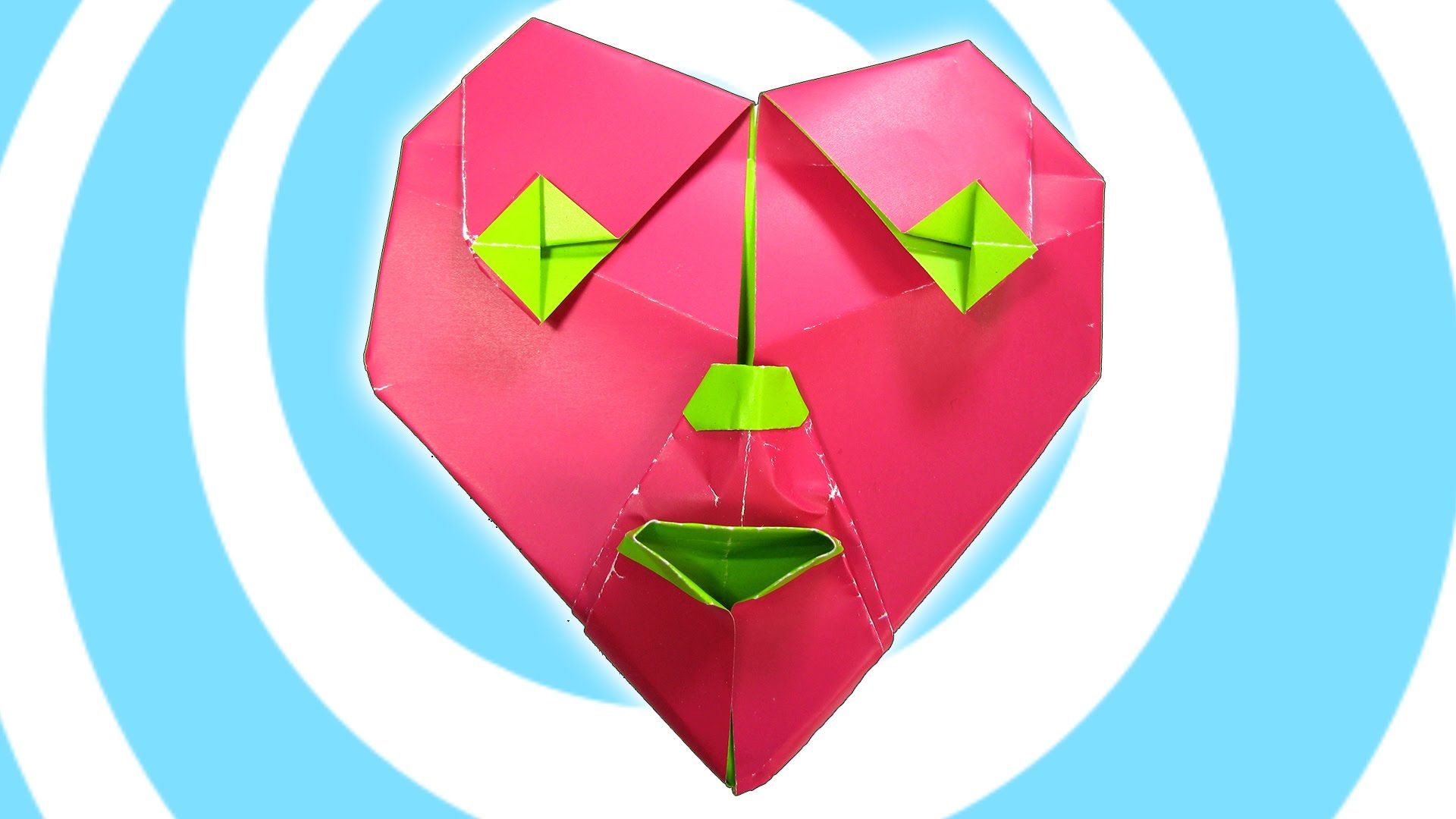 Origami heart of a clown tutorial gilad aharoni origami origami heart of a clown tutorial gilad aharoni origami jeuxipadfo Image collections