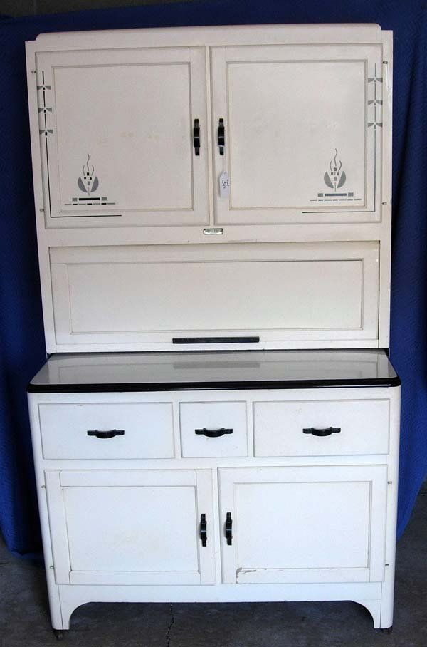 50 1930 S Art Deco Kitchen Cabinet By Seller S Inc Lot 50 Art Deco Kitchen Art Deco Kitchen Cabinet Art Deco Kitchen Furniture
