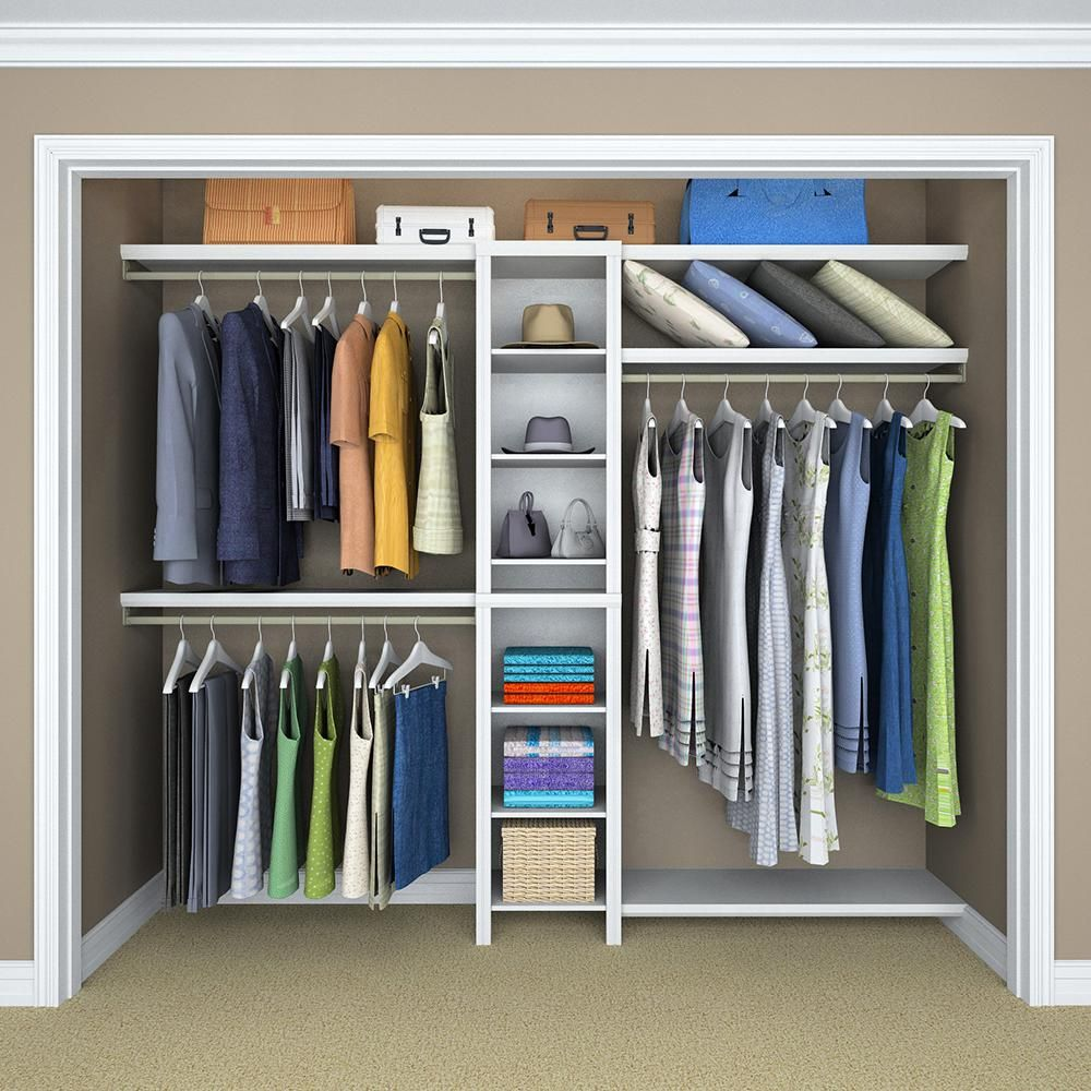 How to Build a Closet to Give You More Storage - The Home Depot ...