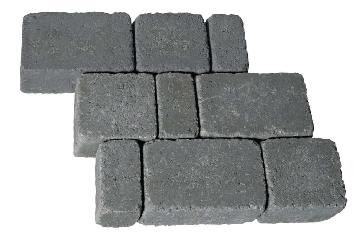 Pavé Multiformat Emilien Les Exclusifs Gris Granit 12x6x6 Cm