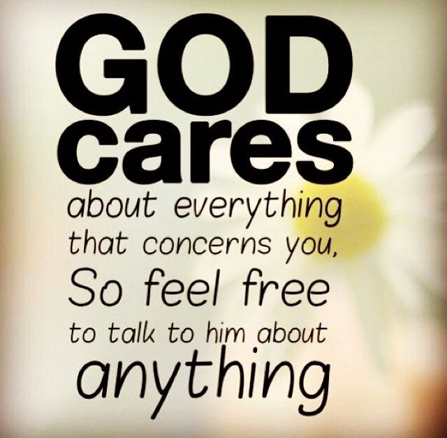 God Cares Us Always Faith Quotes Joyce Meyer Quotes Quotes