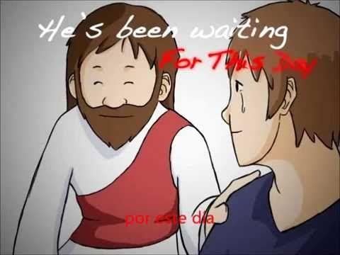 """""""Cuando Dios corrió"""", cuando estaba perdido, Él vino a mí :') https://youtu.be/EUPCL4WglEc"""