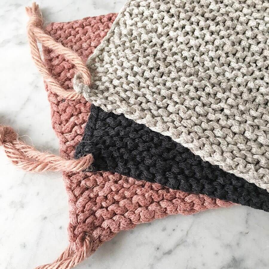 Photo of Textile yarn & ribbon yarn and thick wool • Ideas and examples for knitting …