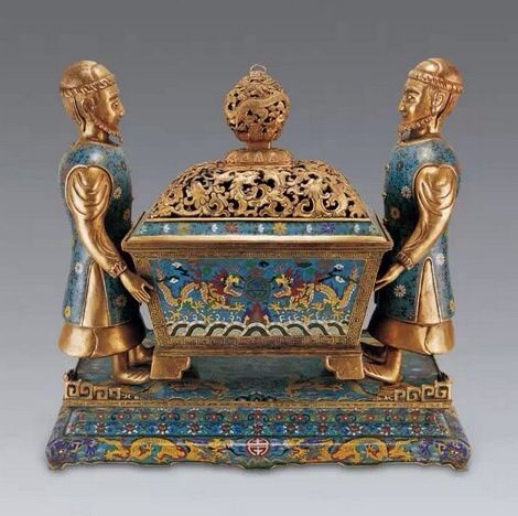 Chinese antique:Cloisonne burner