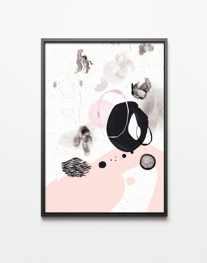 Autorska grafika Pink love I - Printlove - PolishDesignNow.com ...