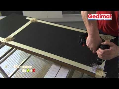 Remplacer un plan travail (Gedimat) - Ma Maison de A à Z Matériaux - parquet flottant pour cuisine