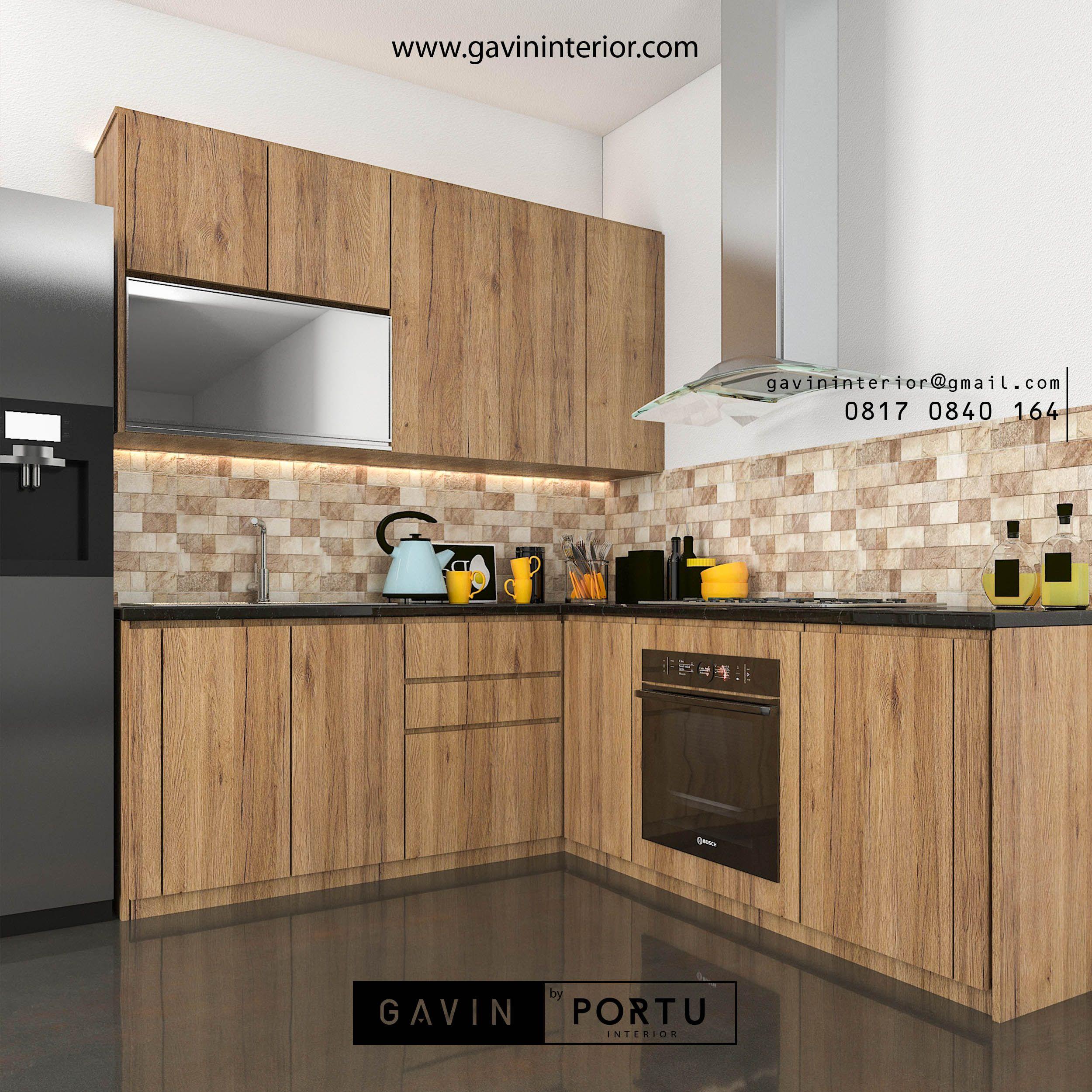 Cara Untuk Menyiasatinya Adalah Menggunakan Kitchen Set Minimalis Dengan Model Kabinet Dapur Bukaan Ke Atas Design 3d Untuk Kabinet Dapur Dapur Terbuka Dapur