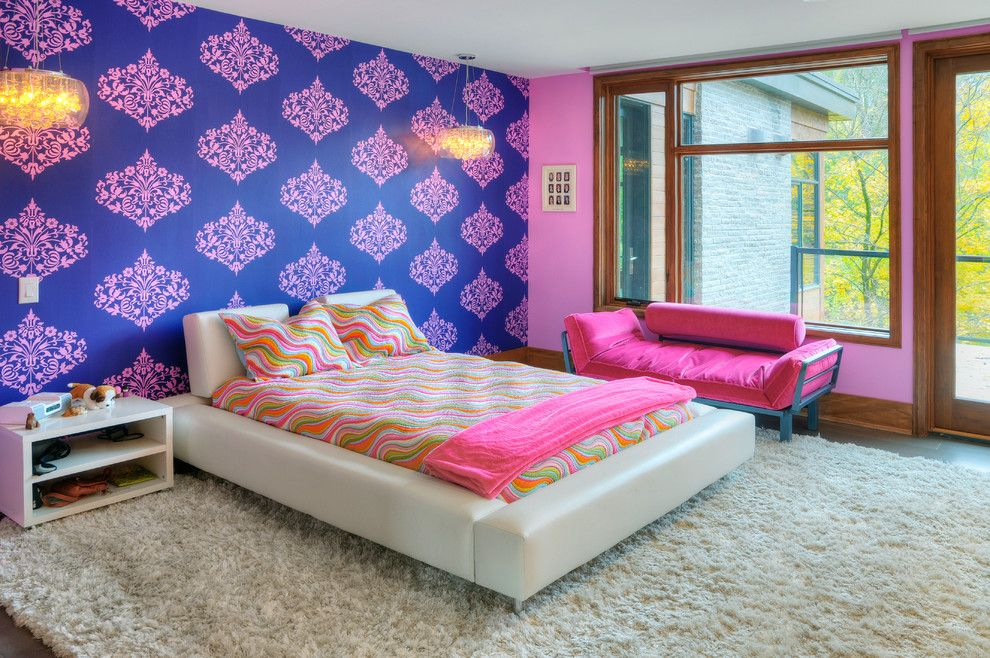 Home Ideas For > Royal Blue And Pink Bedroom | New Room ...
