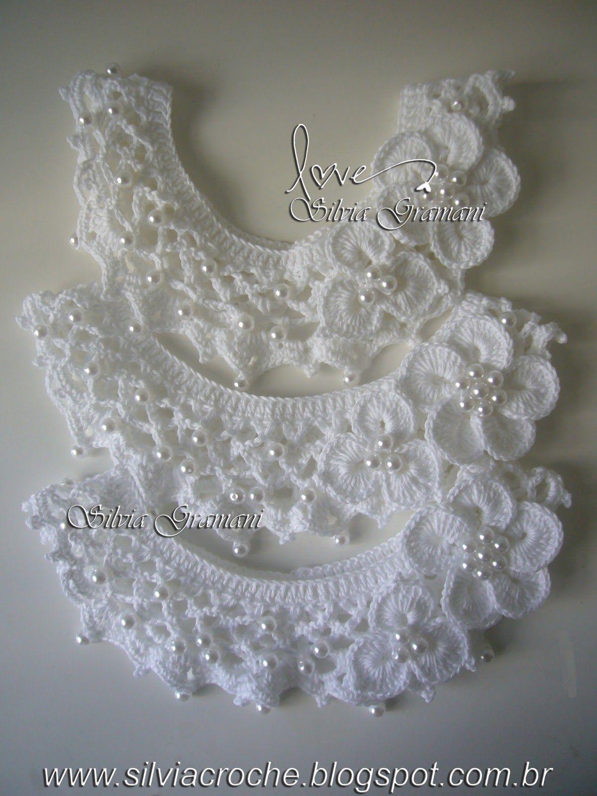 Colar De Perolas Trico E Croche Vestidos De Croche Infantil
