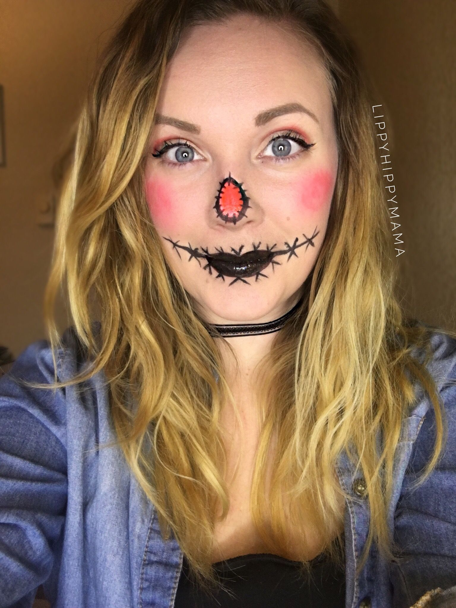 Here's my Scarecrow Halloween Look! FACE 👩🏼 Climate