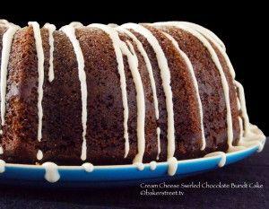 Cream Cheese Swirled Chocolate Bundt Cake