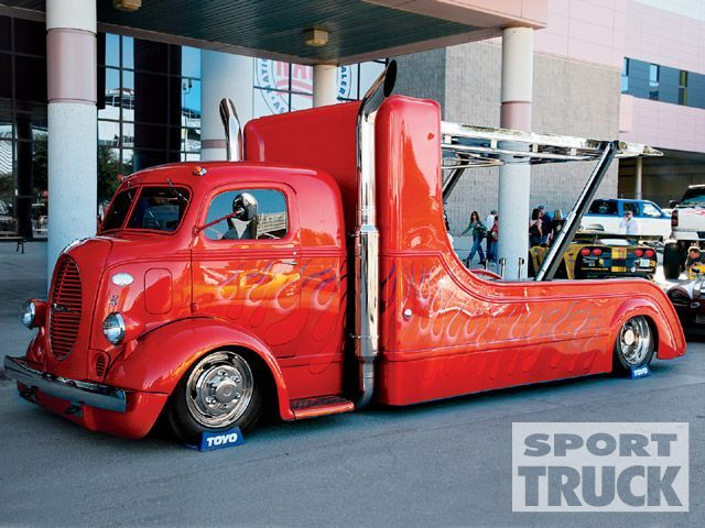 Sema show custom car hauler | Wheels | Pinterest | Custom ...