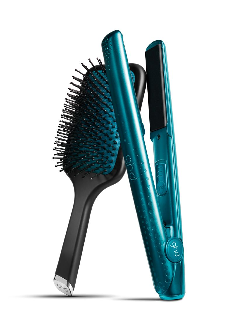 Styler Ghd V Jewel Zafiro Con Cepillo Ghd Paddle A Juego Expensive Beauty Products Ghd Hair Ghd
