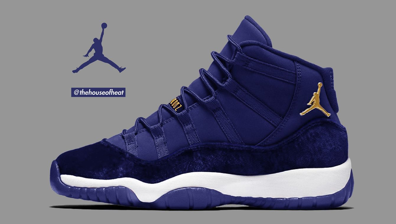 premium selection a7d3c 54a37 A Blue Suede Air Jordan 11? Why not. With the recent success ...