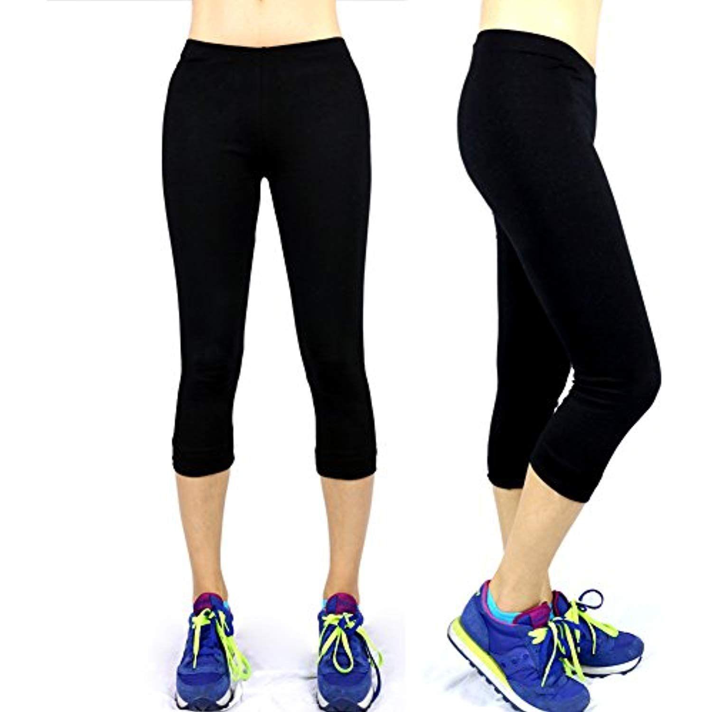 e767cdd5b040b A.S Basic Seamless Capri Leggings Nylon Spandex Skinny Yoga Pants   Yoga  world   Capri leggings, Seamless leggings, Leggings are not pants
