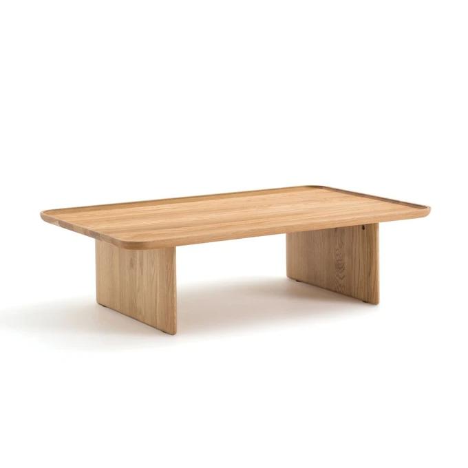 Table Basse Chene Massif Medito Chene Naturel Am Pm La Redoute En 2020 Table Basse Chene Massif Table Basse Chene Table Basse