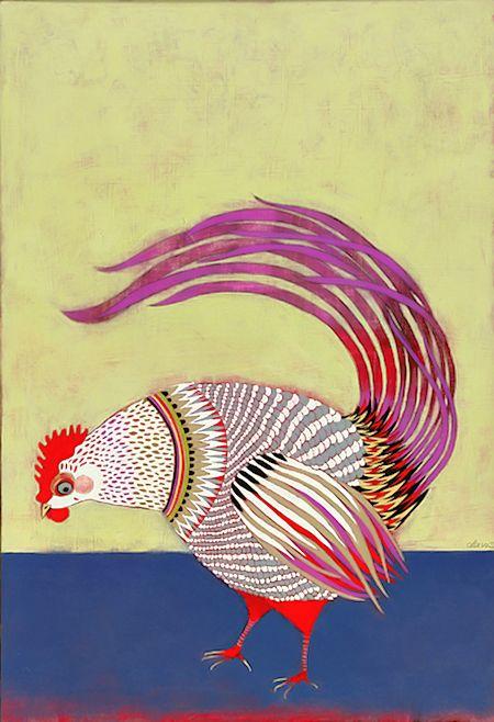 Various Bird Artworks http://www.inspirefirst.com/2012/12/20/bird-artworks/