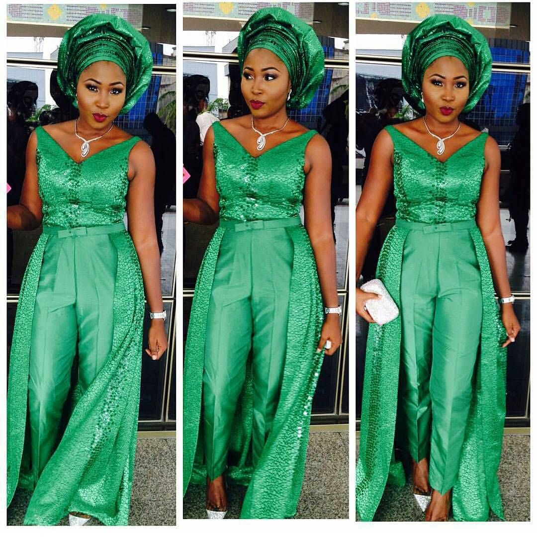 Lovely Aso Ebi Types We Are Crushing On This Week | African Fashion ...