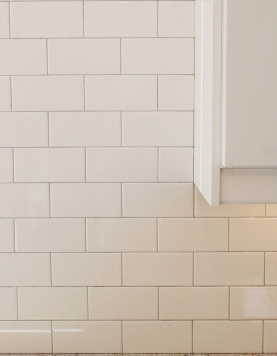 White subway tile with tight light gray grout lines small bath white subway tile with tight light gray grout lines dailygadgetfo Images