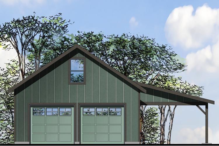 House Plan 035 00704 1 571 Square Feet 1 Bathroom In 2020 Garage Workshop Plans Garage Plans Detached Garage Plans With Loft