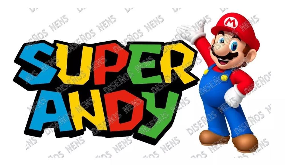Super Mario Bros Logo Personalizado Imprimible Digital Png 311 00 Super Mario Bros Super Mario Personalizar
