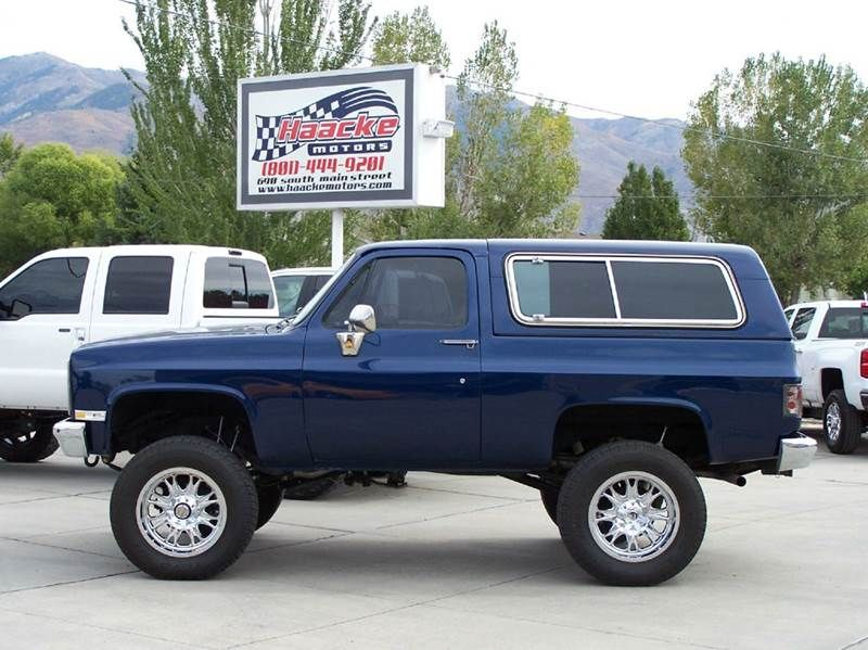 This 1986 Gmc Jimmy Is Listed On Carsforsale Com For 20 995 In Layton Ut This Vehicle Includes Classic Chevy Trucks Lifted Chevy Trucks Gmc Trucks