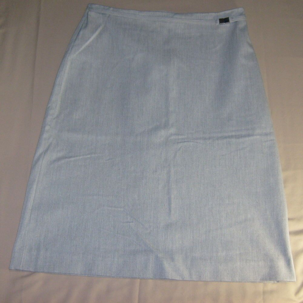 Gap womenus straight line skirt size reg color gray colour