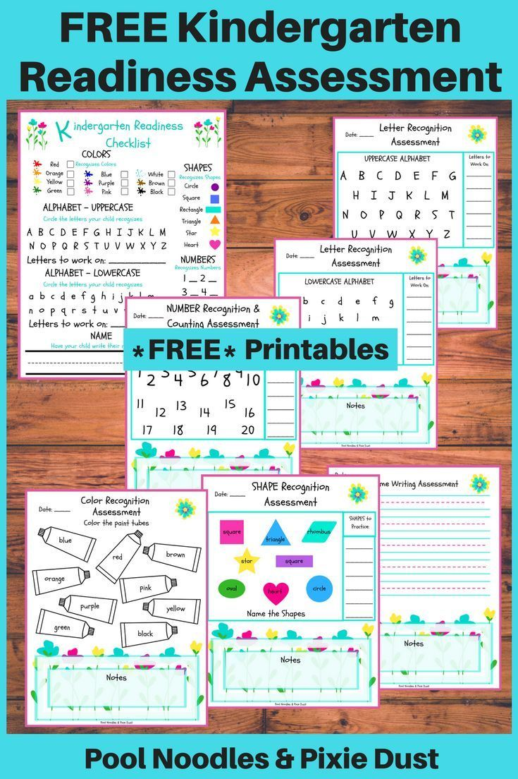 Photo of Free Printable Kindergarten Readiness Assessment | Money Saving Mom®