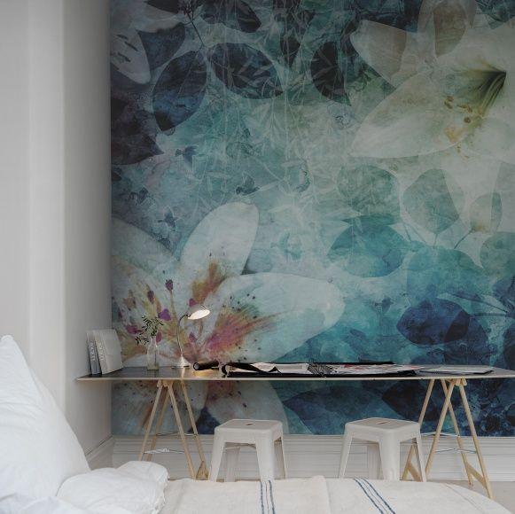 Wandmalerei Wohnzimmer Ideen: Wandgestaltung, Deko Wand
