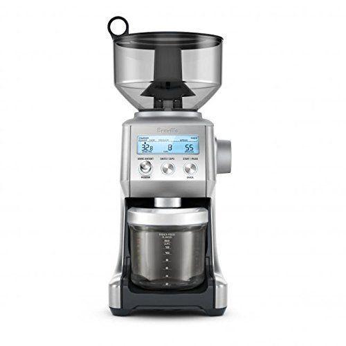 Breville Rmbcg820bssxl The Smart Grinder Pro Coffee Bean Grinder Brushed Stainless Steel Certified Best Coffee Grinder Coffee Bean Grinder Burr Coffee Grinder