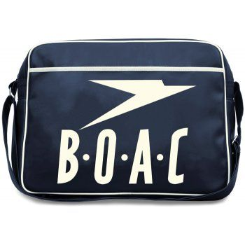 BOAC Airline Sports Bag in Deep Navy (With images) | Bags