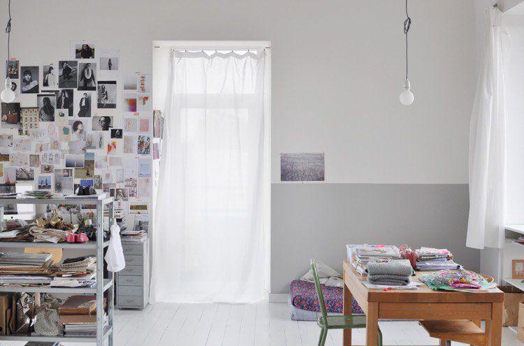 Idée déco peinture intérieur maison \u2013les murs bicolores respirent l - peinture murale interieur maison