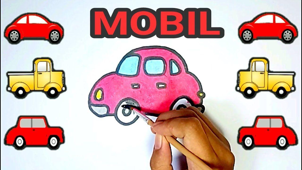 Cara Menggambar Mobil Dan Cara Mewarnai Mobil Terbaru Untuk