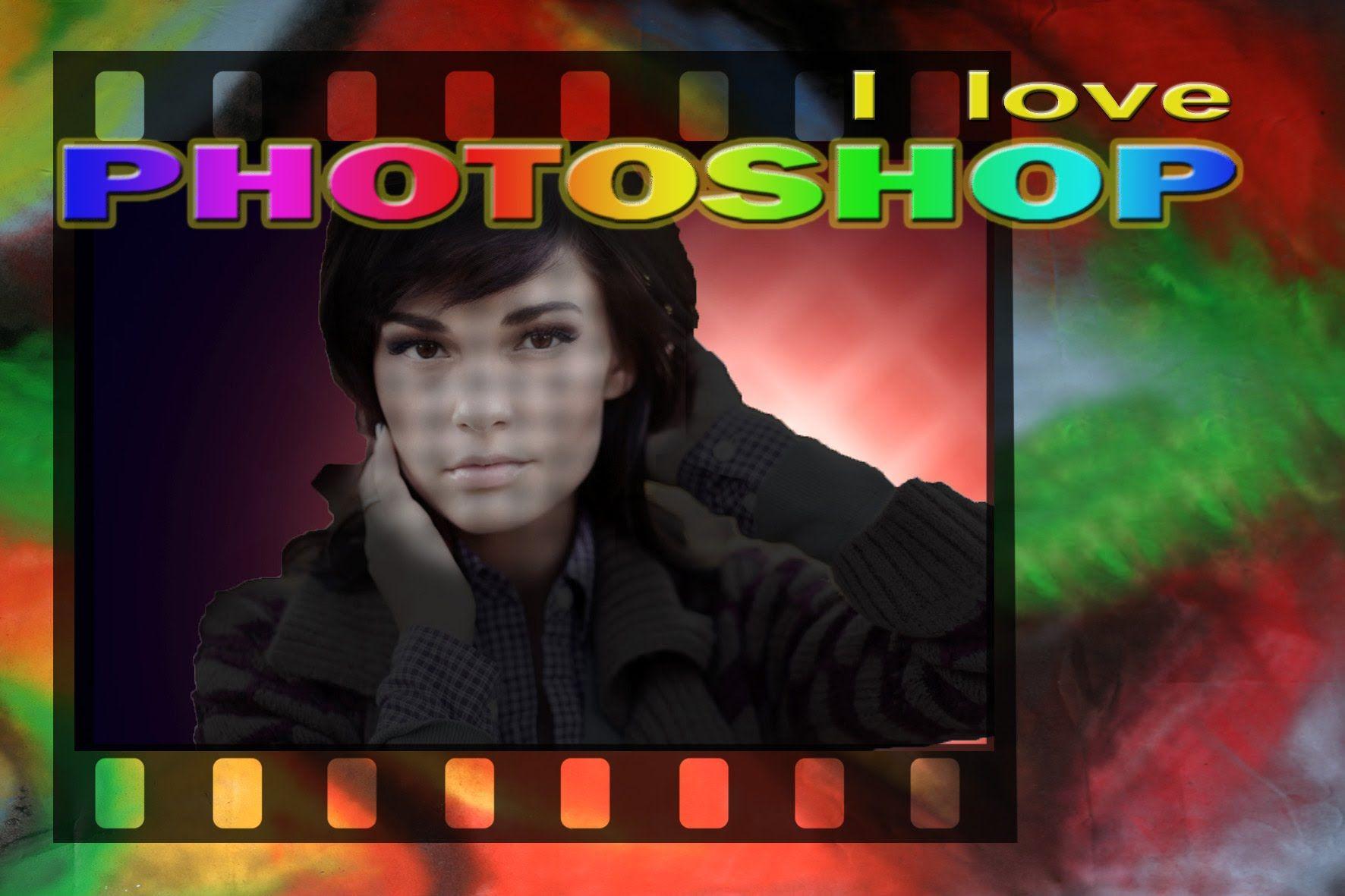 Photoshop Ritratto Artistico Con Luci E Ombre Ricreate Come