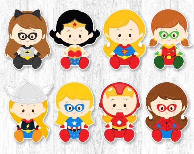 Mujer Maravilla Niña Animada: Superhero Baby, Superhero Baby Shower, Superhero Baby
