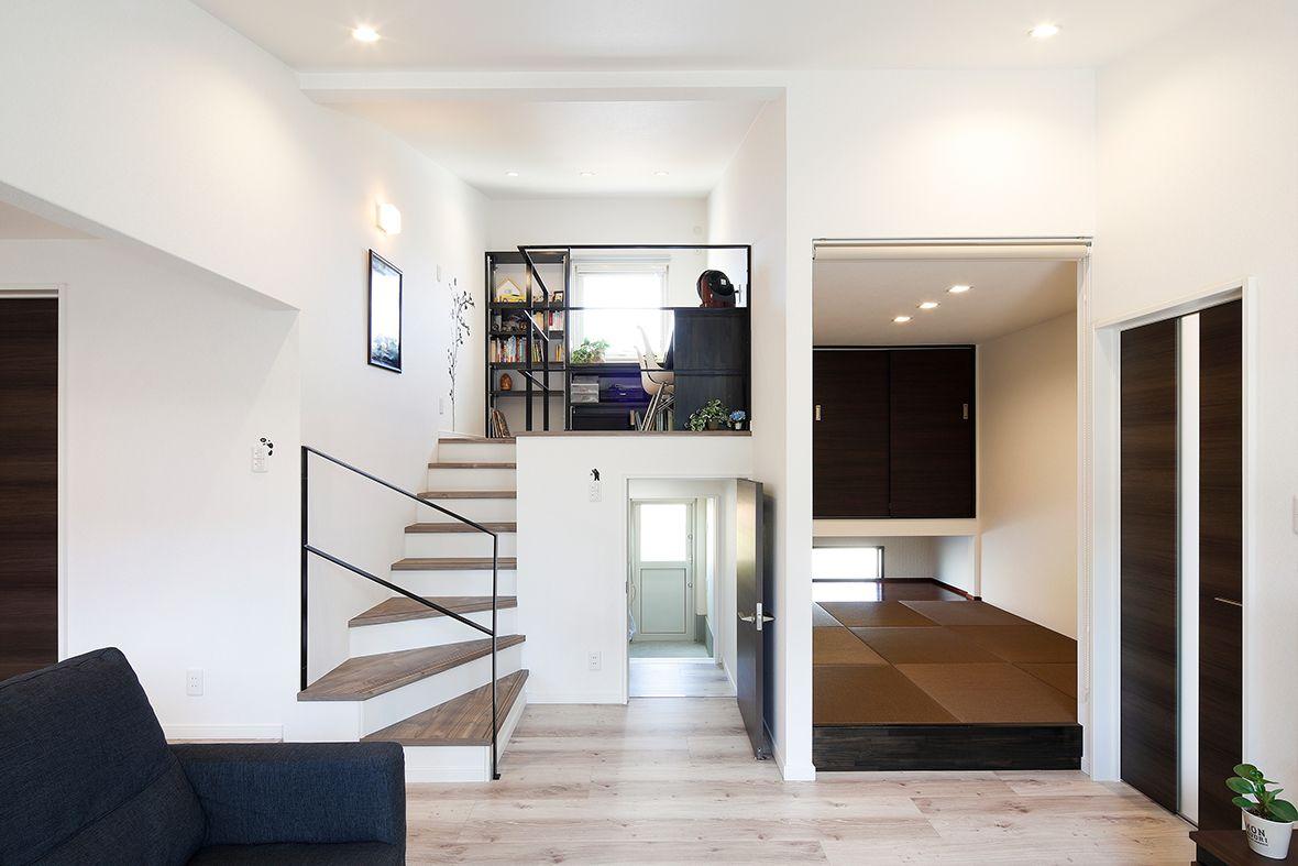 37 洗練されたシンプルモダンな平屋の住まい かっこいい家 シンプル