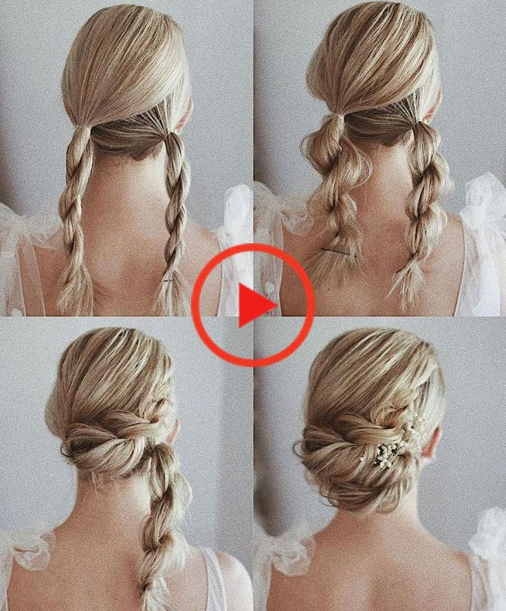 Hermoso y simple tutorial para peinados de regreso a casa para cabello largo - Hey-Cinderella ...