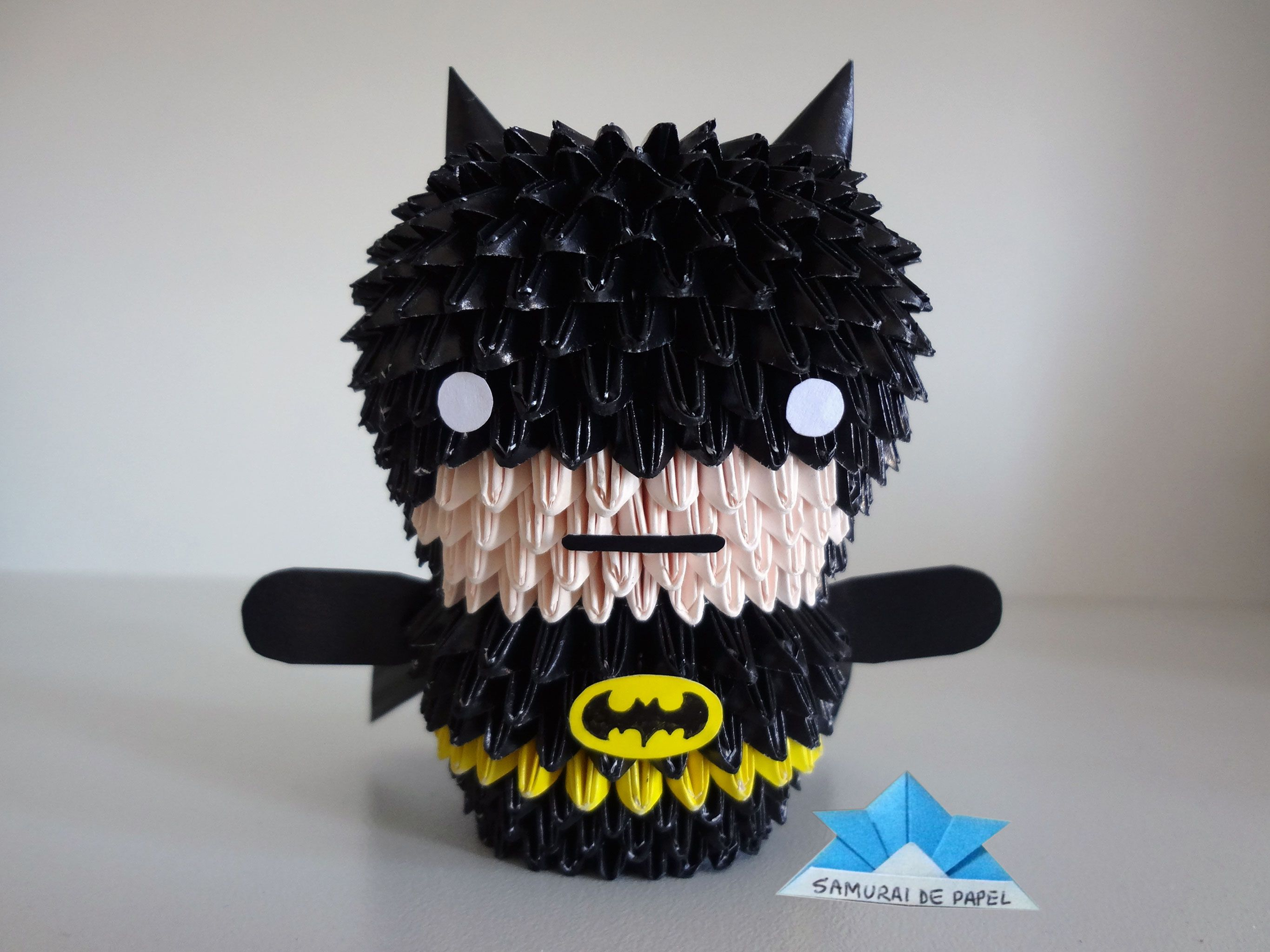 Batman origami image collections craft decoration ideas origami 3d batman 3d origami pinterest origami 3d and 3d origami 3d batman jeuxipadfo image collections jeuxipadfo Image collections