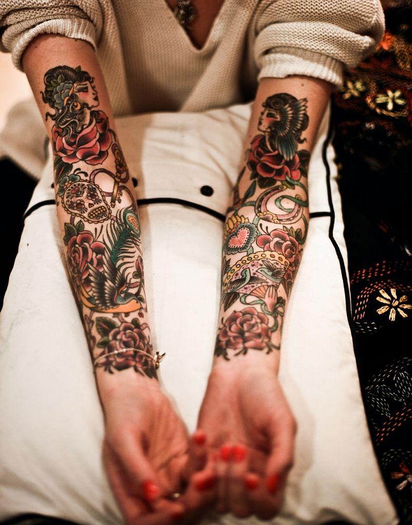 Tattoo ornament - ancient style of tattoos 57
