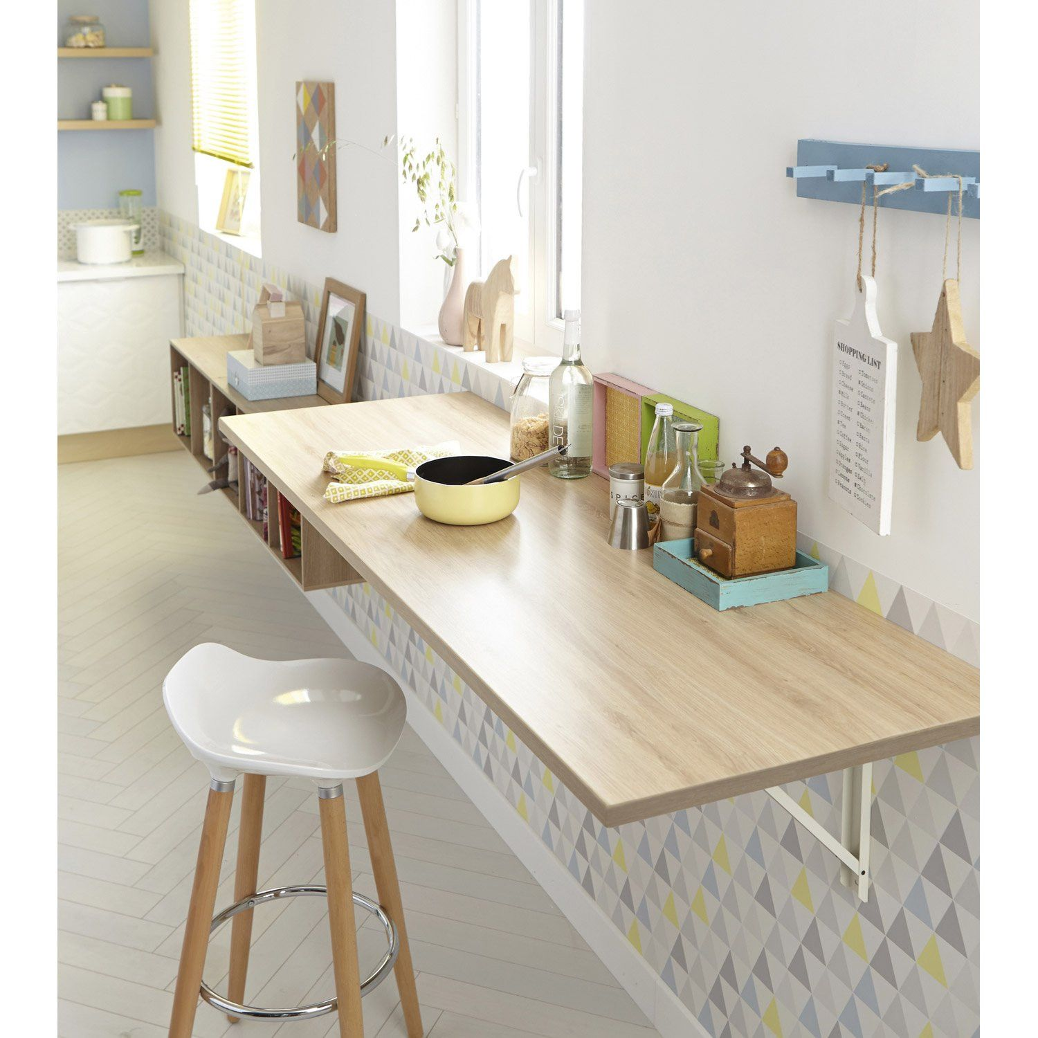 Inspirational Equerre Plan De Travail Small Kitchen Tables Tiny Kitchen European Home Decor