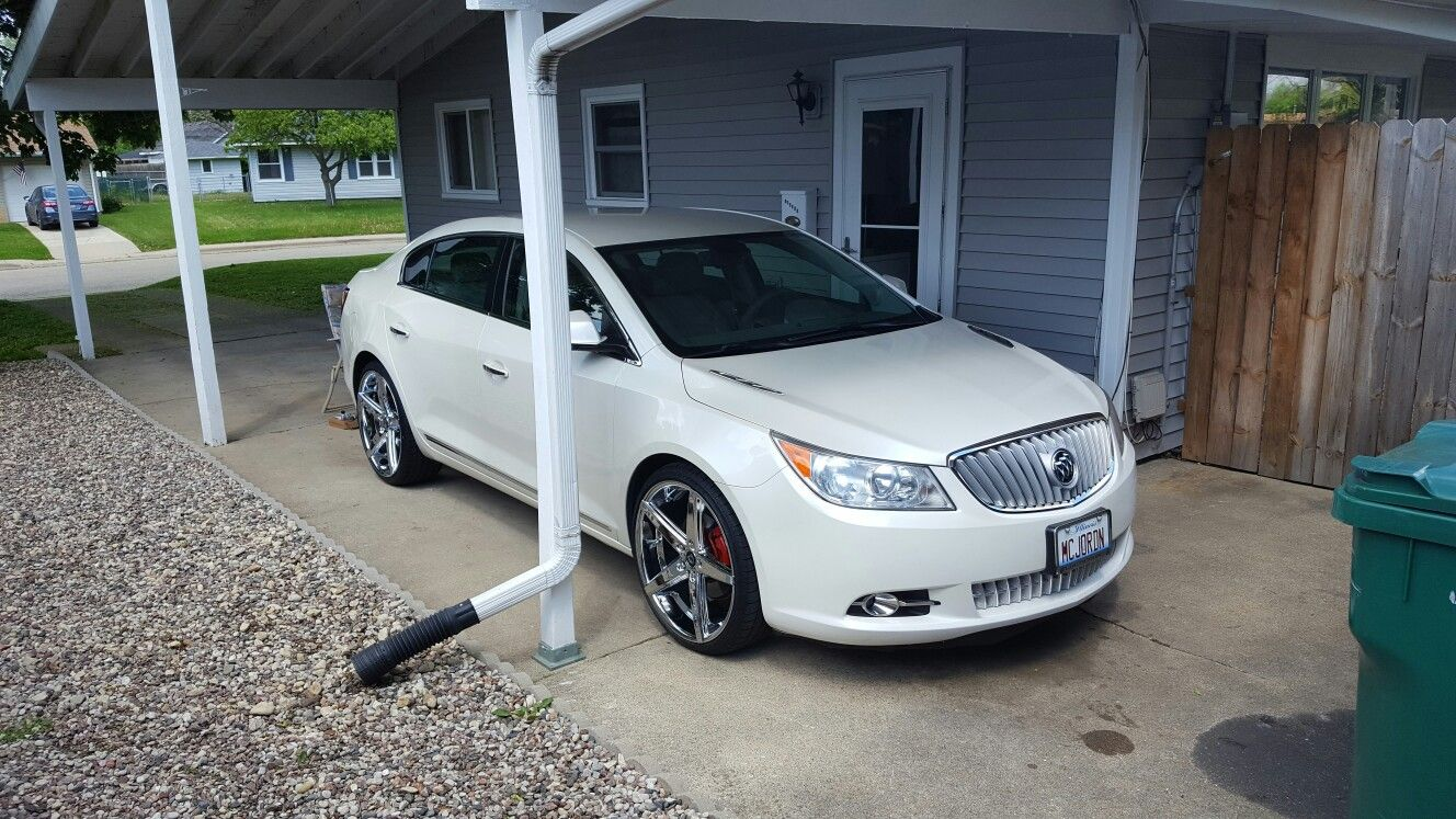 2011 Buick Lacrosse Cxl With 22inch Lexani R4 S 2011 Buick Lacrosse Buick Lacrosse Buick