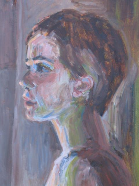 Judith Freas, Girl in Profile