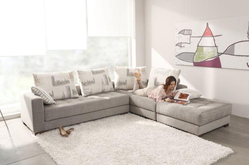 Big Sofa Oder Doch Wohnlandschaft Im Wohnzimmer? #wohnlandschaft #Wohnzimmer