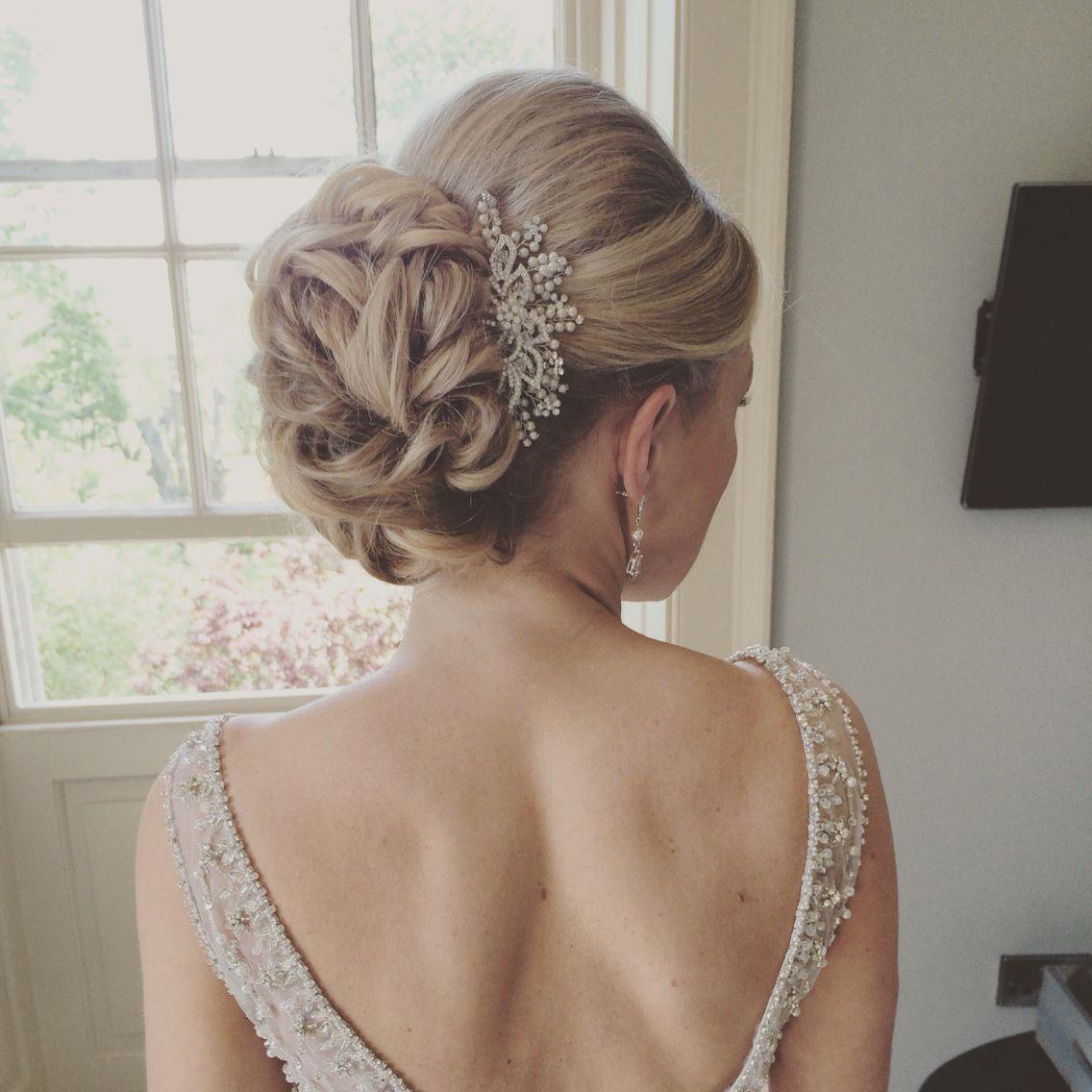 newton hall wedding hair north east hairdresser lisa cameron hair