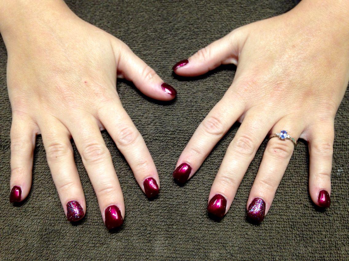 Free form gel nails with vinylux Polish 10/6/14 | Stuff I\'ve done ...