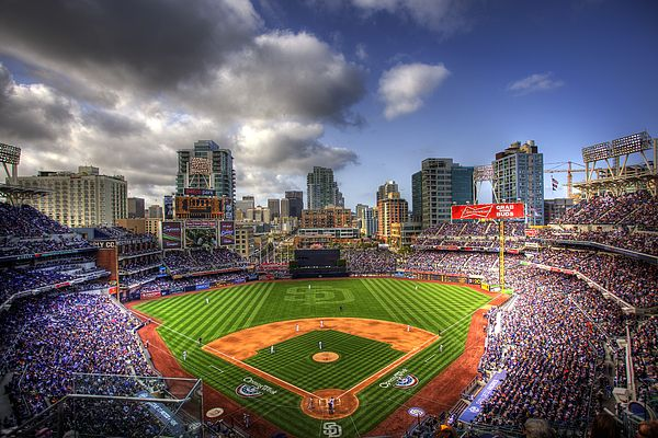 Petco Park Opening Day By Shawn Everhart Petco Park Best Baseball Stadiums Padres Baseball