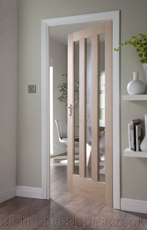 Found on google from distinctivedoors doors pinterest stylish glazed worcester oak door allows the light to flow into both rooms planetlyrics Images