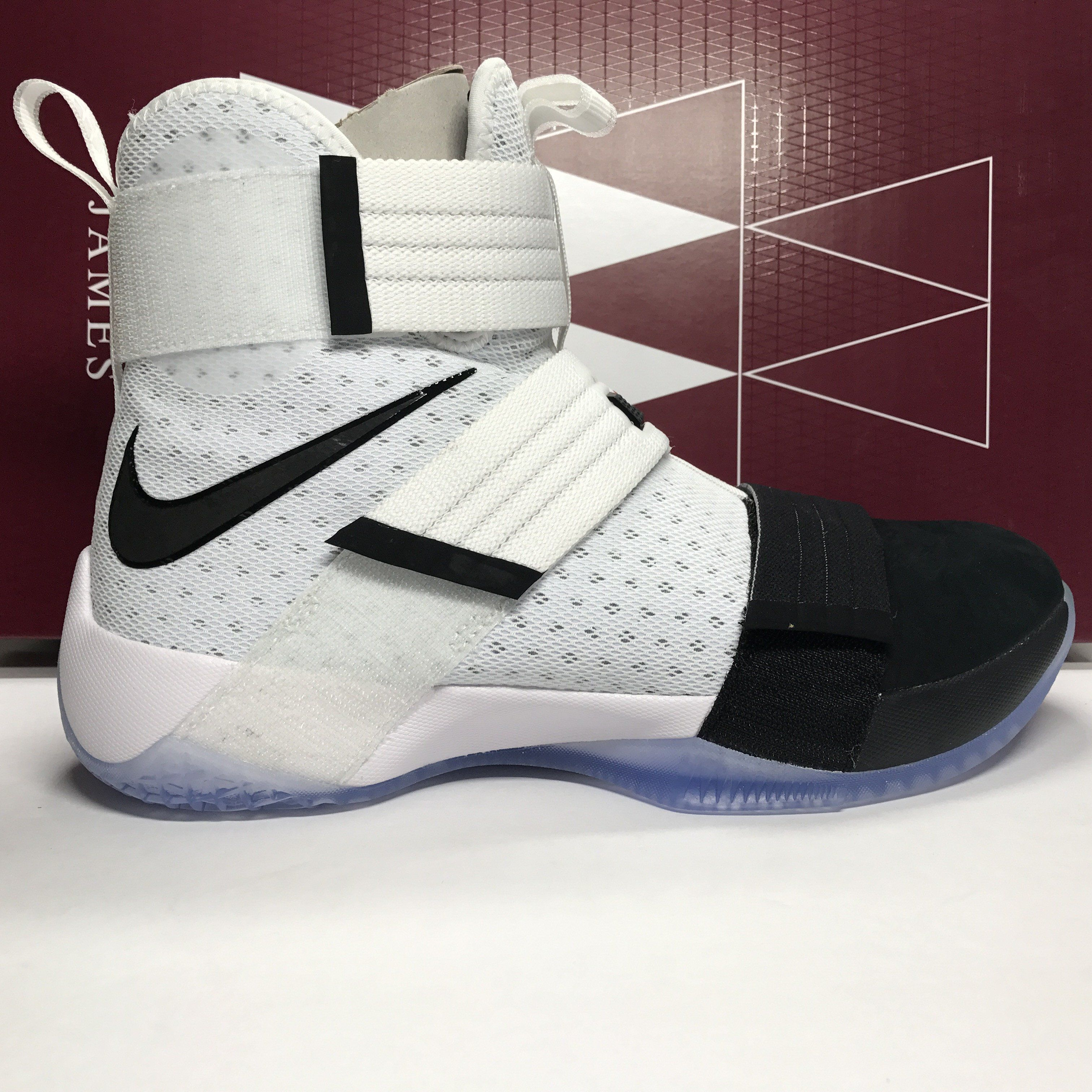 96912c4cf99e ... get ds nike lebron soldier 10 spg white black size 9.5 size 10 aef42  58317