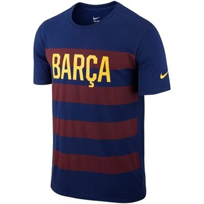 Barcelona FC Nike Core Plus T-Shirt - Blue