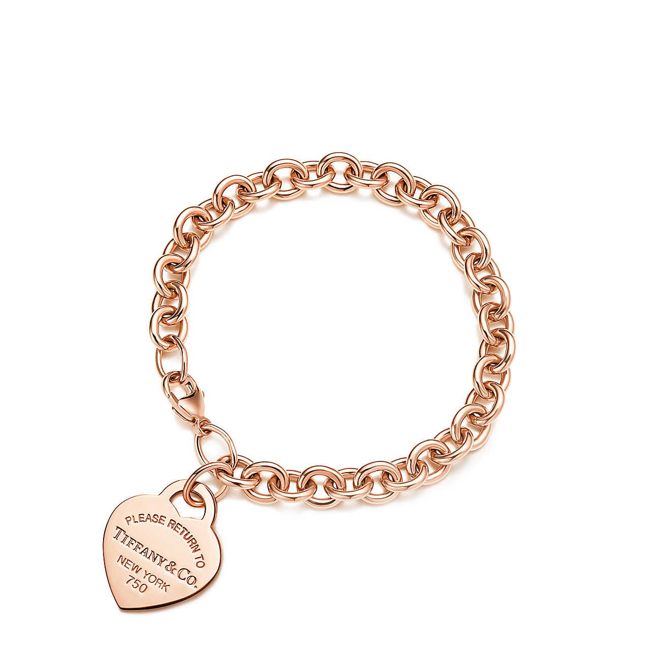 Return to Tiffany®:Heart Tag Bracelet
